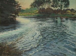 """River Avon - 24""""x30"""" £395"""