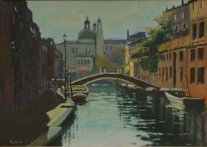 "Venetian Bridge - 12""x16"" £175"