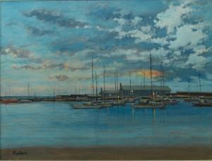 "Lyme Regis - 16""x20"" £170"